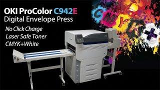 Oki C942E Digital Five Color Envelope Press