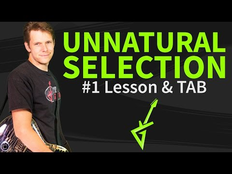 How to play Unnatural Selection Guitar Lesson & TAB - Muse Mp3