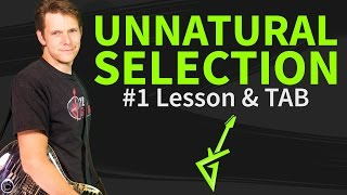 Guitar Lesson & TAB: How to play Unnatural Selection 1/2 - Muse - intro-verse-chorus