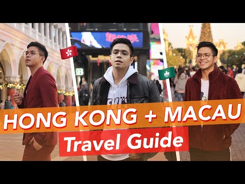 First Time To Travel Alone + Travel Guide In Hong Kong & Macau