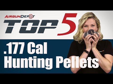 Top 5: .177 Caliber Hunting Pellets