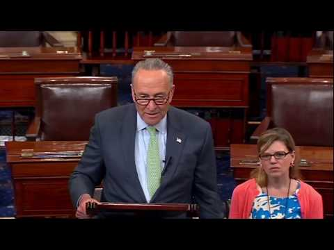 """He is just NOT a Leader ""Chuck Schumer BRILLIANT Takedown of Trump For Wanting Health Care To Fail"