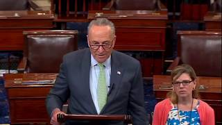 Chuck Schumer BRILLIANT Takedown of Trump For Wanting Health Care To Fail