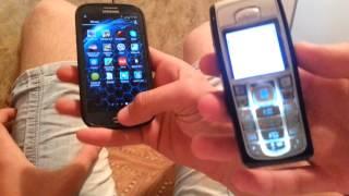 Сравнение Samsung galaxy s 3 и Nokia 6230.