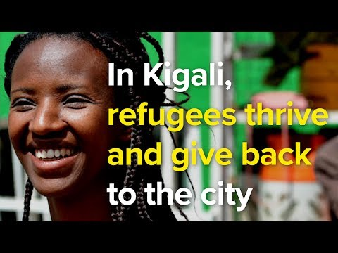 In Kigali, refugees thrive and give back to the city