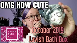 LAVISH BATH BOX UNBOXING- OCTOBER 2019
