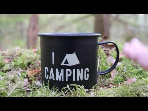 Poundland Camping Mug