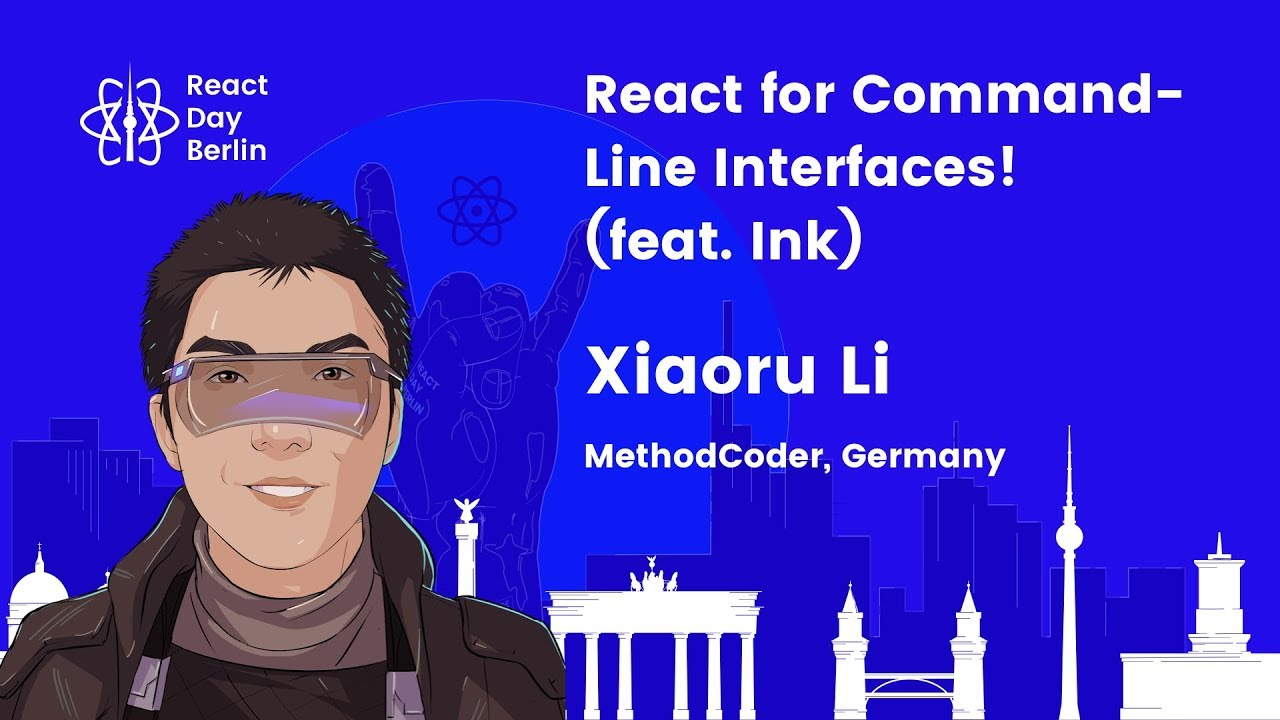 Lightning talks – React for Command-Line Interfaces! (feat. Ink) – Xiaoru Li