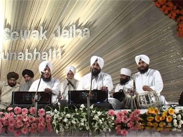 New Shabad 2013 | Bhai Satvinder Singh Ji | Tere Gun Bahute Main | Live Kirtan Darbar