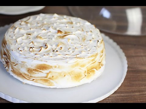 gâteau-au-citron-&vanille-meringué-/-lemon-layer-cake-/-كعكة-الليمون-والمورانغ