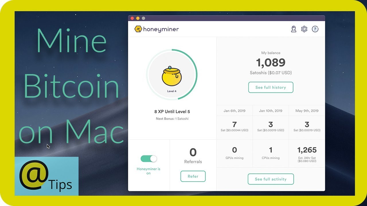 cryptocurrencies you can mine with a macbook air