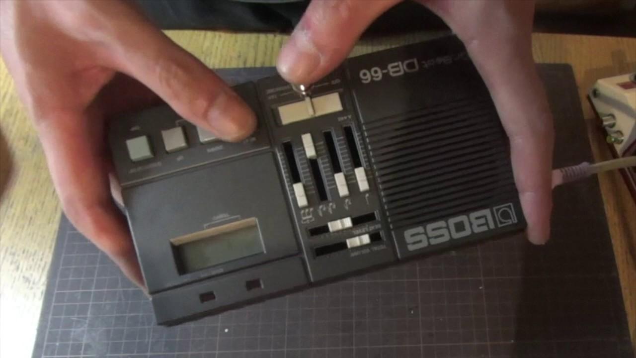 Circuit Bent Boss Db 66 Youtube Mini Metronome