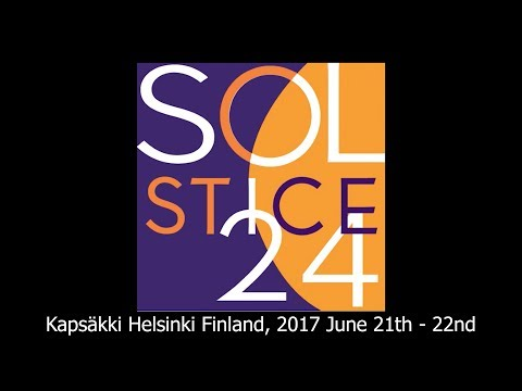 Kapsäkki Helsinki Finland, 2017 June 21th - 22nd