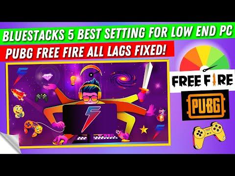 Bluestacks 5 Best Setting For Low End PC   How To Make Bluestacks 5 Run Faster   Bluestakcs Lag Fix