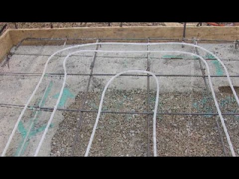 Installing Radiant Heat In Concrete Slab And Foundation