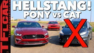 Gameshow: Is a Ford Mustang GT Faster Than a Fiesta ST...No Make That a Hellcat? Ep.8