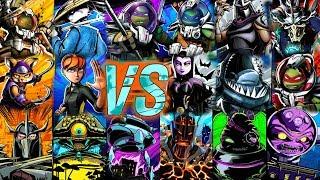 ALL NEW HEROES VS BOSSES with Animation - Teenage Mutant Ninja Turtles: Legends Update X Episode #50