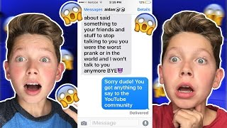 crazy song lyric texting prank on bestfriend gnash i hate you i love you