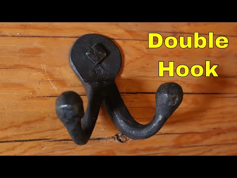 Forge welded double hook  Hook of the Week 12