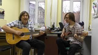 Рождественская песня  стихи Александра Башлачёва - СашБаша