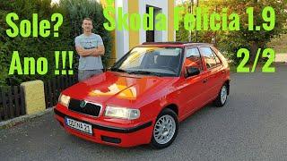 2/2. Škoda Felicia 1.9  Sole, Blue Sky.  erbos.cz