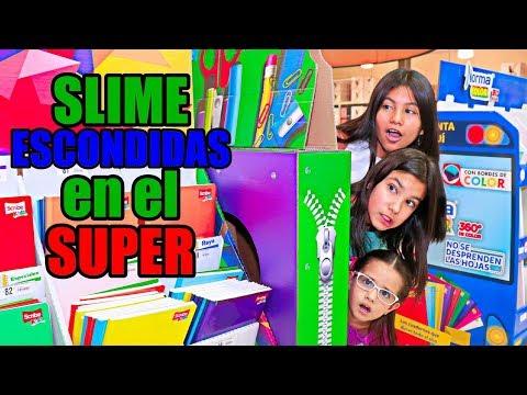 SLiME ESCONDiDAS en el SUPERMERCADO | TV Ana Emilia