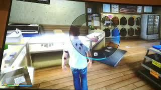 1 с ребятами играем в Grand Theft Auto Five online