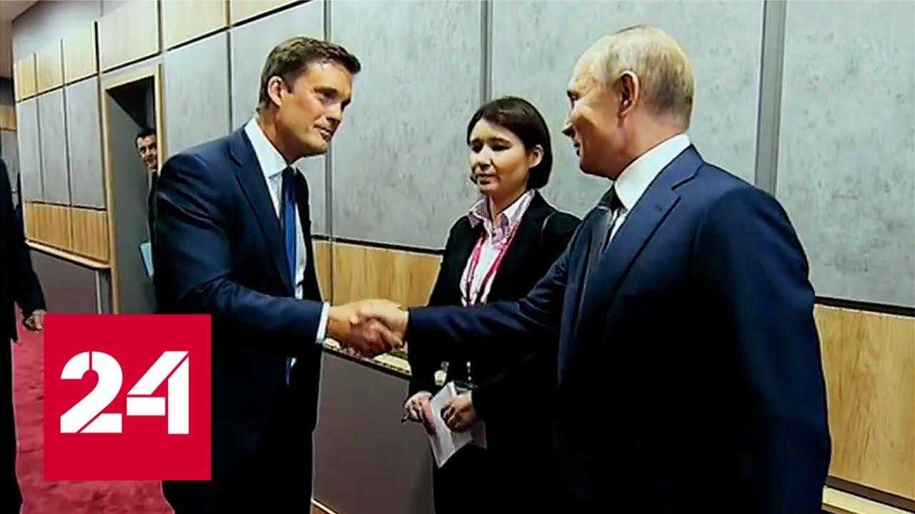 Москва, Кремль, Путин с Владимиром Соловьёвым, 06.10.19