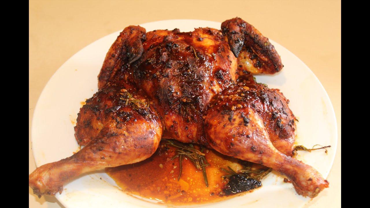 piri piri spatchcock chicken youtube