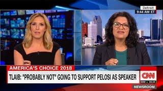 "Rashida Tlaib Isn't a Fan of Pelosi: ""She Doesn't Speak About the Issues"""