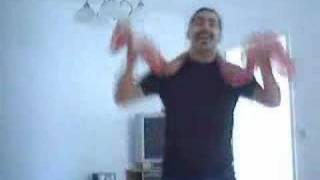 Assyrian Freddy Mercury singing to Janan Sawa
