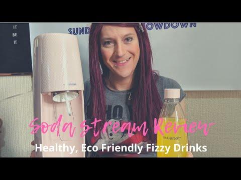 SODASTREAM Sparkling Water Maker REVIEW Pink Blush SodaStream - Homemade Soda/Fizzy Pop Maker AD