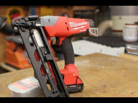 milwaukee 16 gauge cordless nailer 2742 21ct jobsite testing - Milwaukee Cordless Framing Nailer