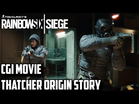 Rainbow Six Siege CGI Movie Thatcher Origin Story with Dokkaebi Harry