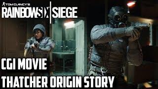 Rainbow Six Siege CGI Movie Thatcher Origin Story with Dokkaebi Harry