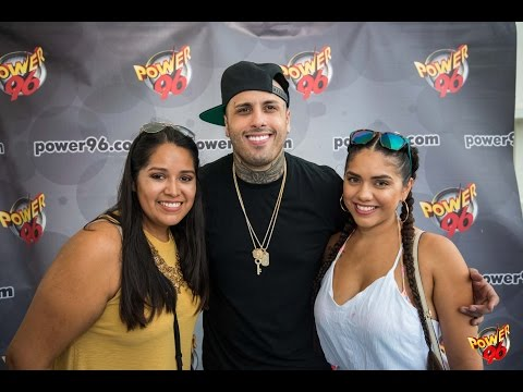 Nicky Jam Interview on South Beach | Power 96 Morning Show