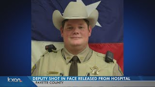 Shot deputy now out of the hospital