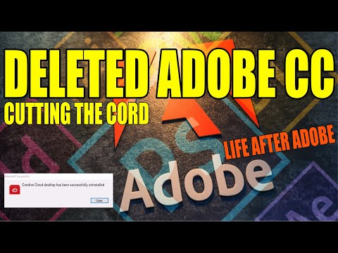 Unsubscribed and Deleted All Adobe CC Software – This Is What Happened