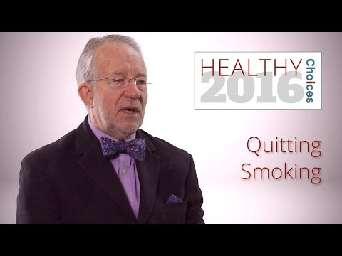 New Year's Resolutions: Quit Smoking