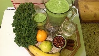 Hazelnut Orange Kale Smoothie ~ Refined Recipe