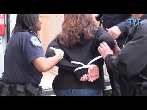 "8 Arrested as Merkley Leads Dems Into ""Nuclear"" Showdown"