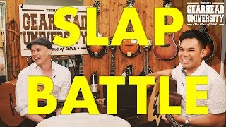 """SLAP 'N TAP"" Acoustic Tutorial  with Petteri Sariola 