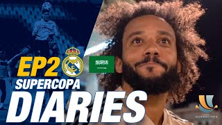ACCESS ALL AREAS with Marcelo, Fede Valverde and the team in Jeddah before Valencia-Real Madrid!