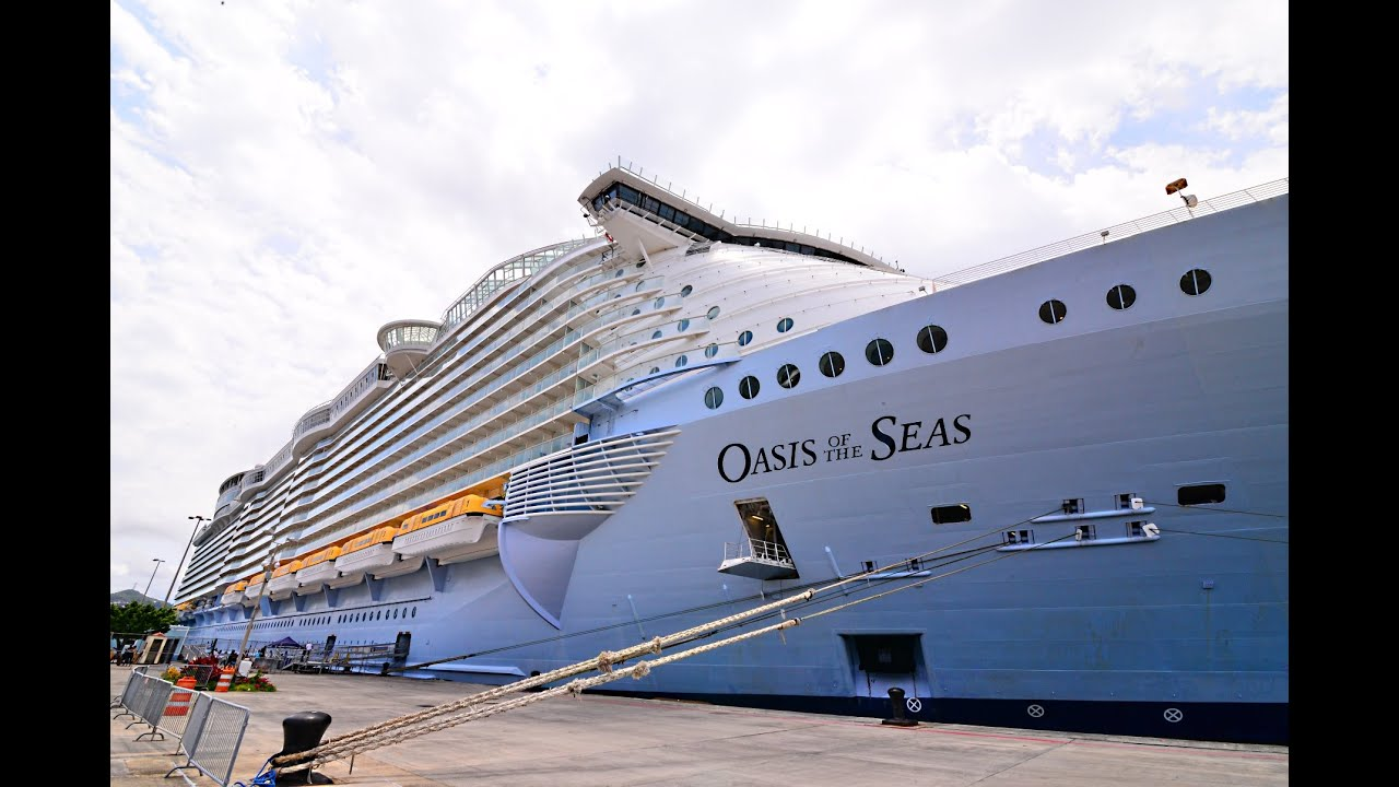 New Oasis Of The Seas 2016 Hd Video And Sound See It Up