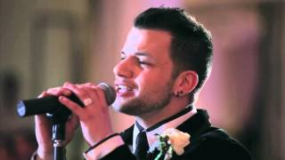 """Groom suprises his beautiful bride by serenading her - """"This I Promise You"""""""