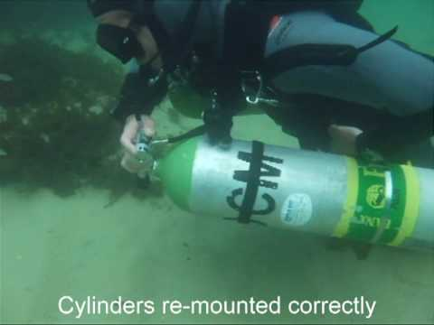 Dive rite nomad sidemount equipment cylinder trimming - Dive rite sidemount ...