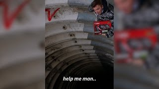 A man stuck in an abandoned russian missile silo..