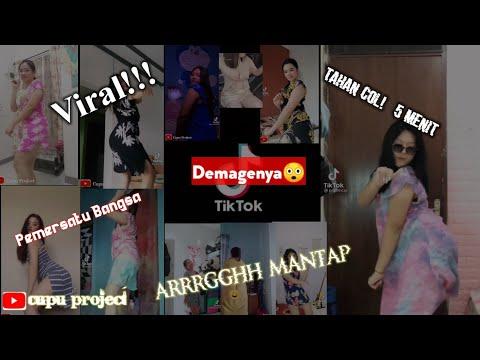 Wow Viral!! Goyang Hot Part #1 Tiktok Pakai Daster Dasternya Nambah Demage!!! Bervitamin