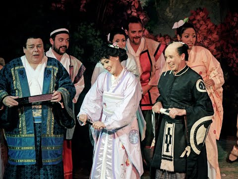 The Mikado, Gilbert & Sullivan Opera Company, Little List.wmv
