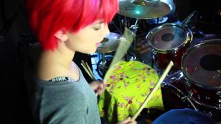 Hey Violet - I Can Feel It (Drum Tutorial)